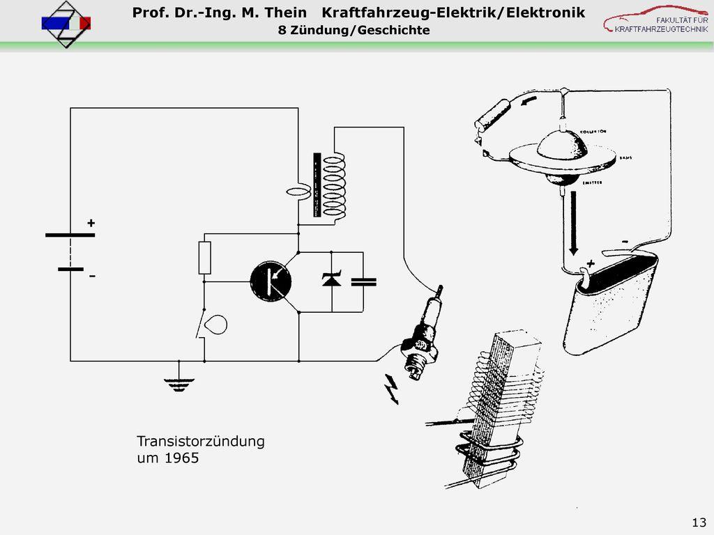 8 Zündung/Geschichte Transistorzündung um 1965