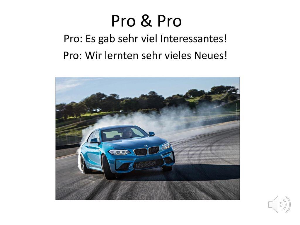Pro & Pro Pro: Es gab sehr viel Interessantes!