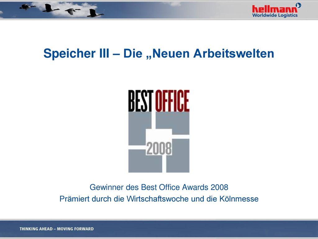 """Speicher III – Die """"Neuen Arbeitswelten"""