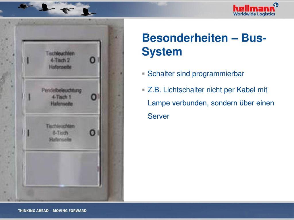 Besonderheiten – Bus-System