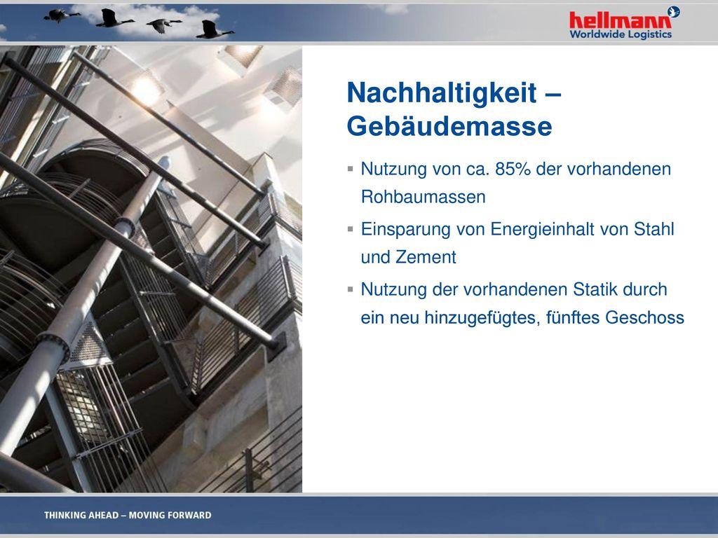 Nachhaltigkeit – Gebäudemasse