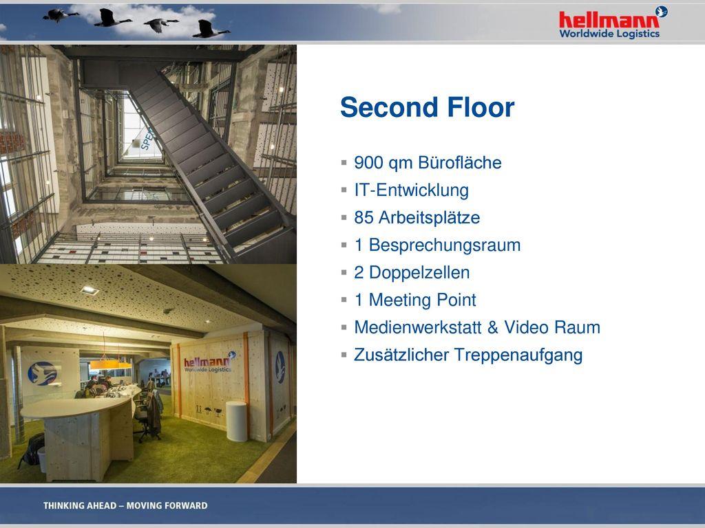 Second Floor 900 qm Bürofläche IT-Entwicklung 85 Arbeitsplätze
