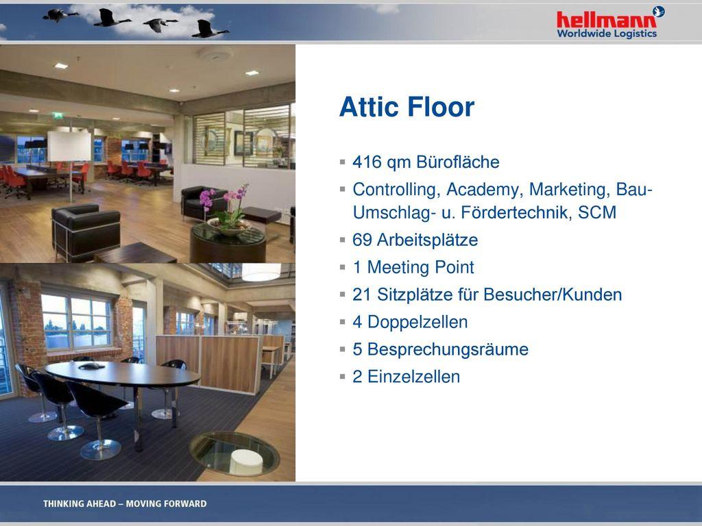 Attic Floor 416 qm Bürofläche
