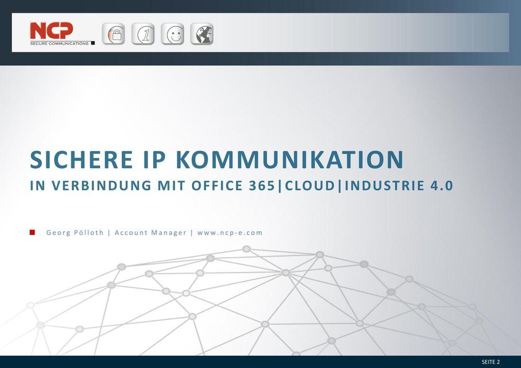 Sichere IP Kommunikation