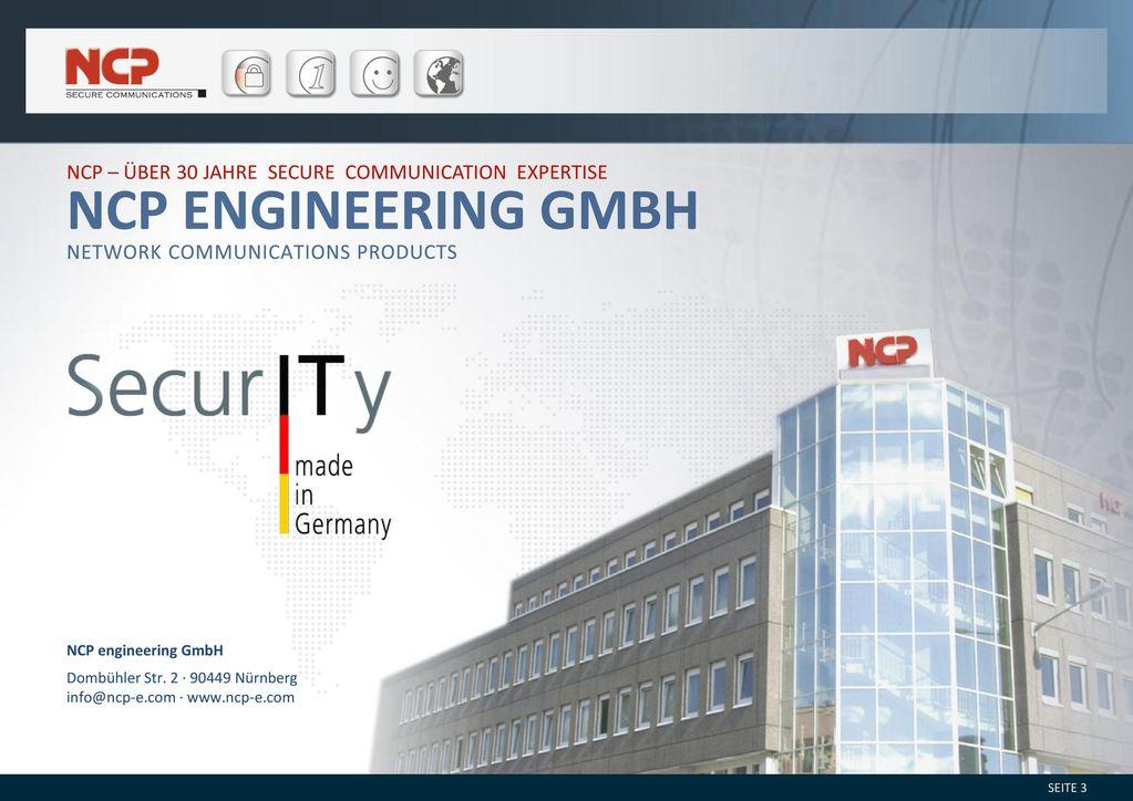 NCP – über 30 Jahre Secure Communication Expertise