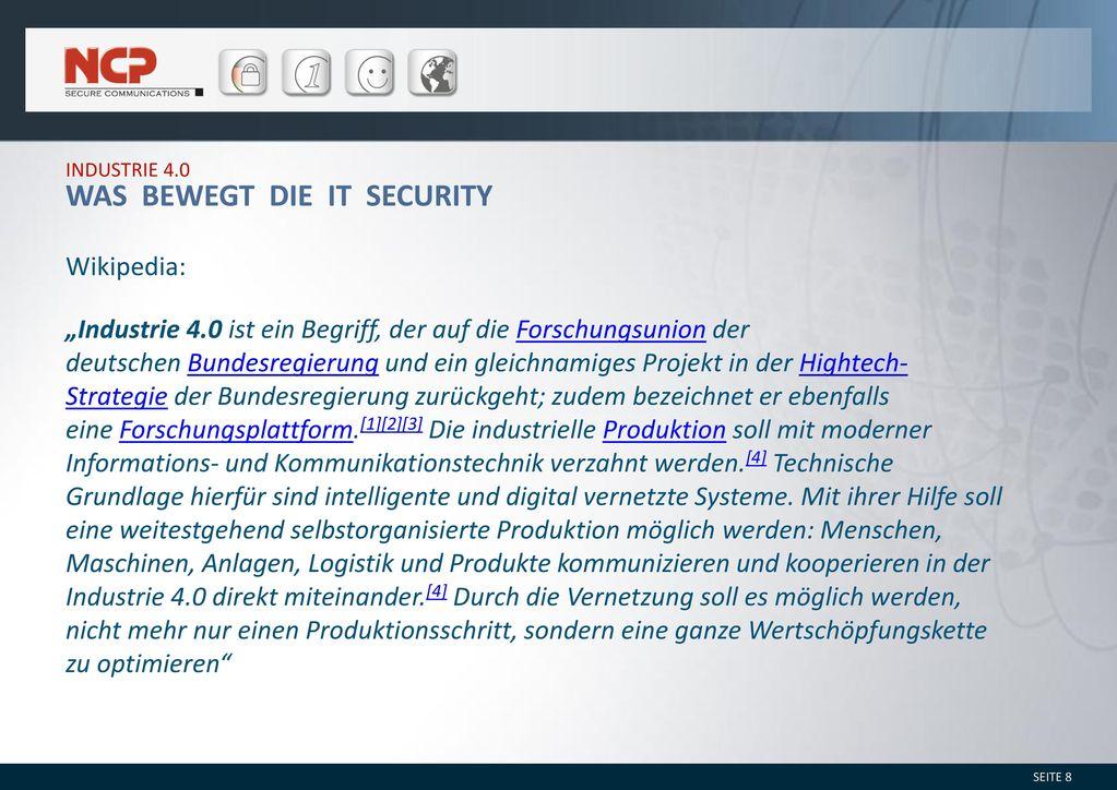 Was bewegt die IT Security
