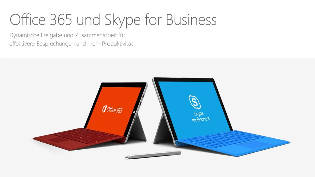 Office 365 und Skype for Business