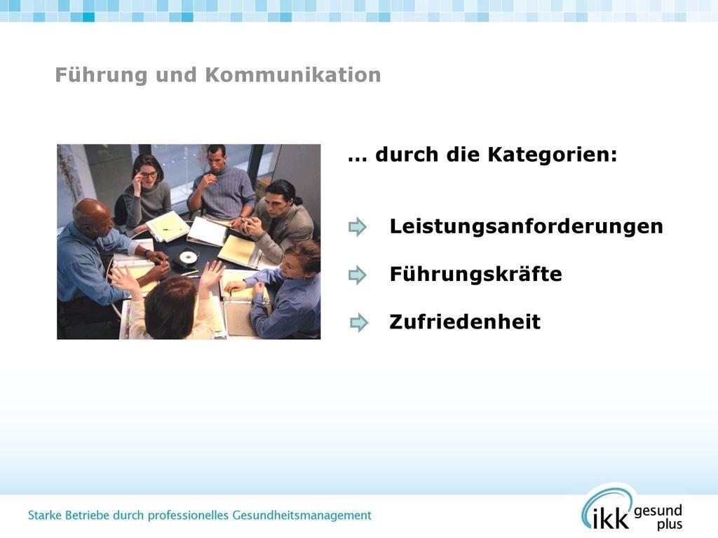 Führung und Kommunikation