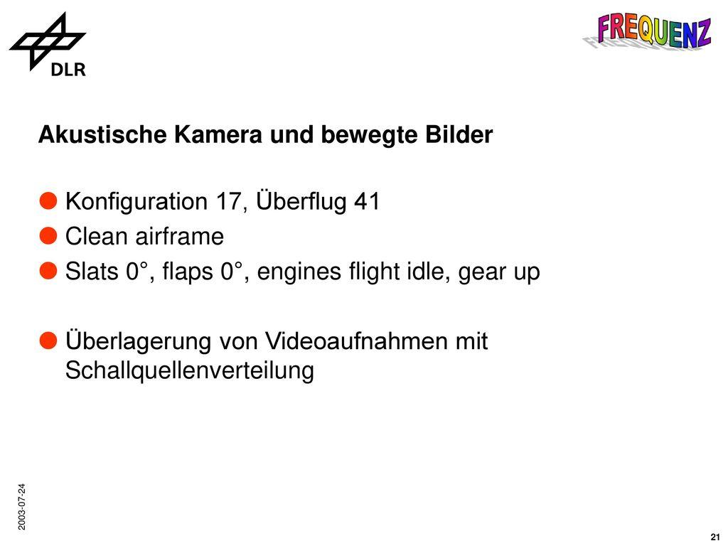 Landeanflug in flight idle, gear up