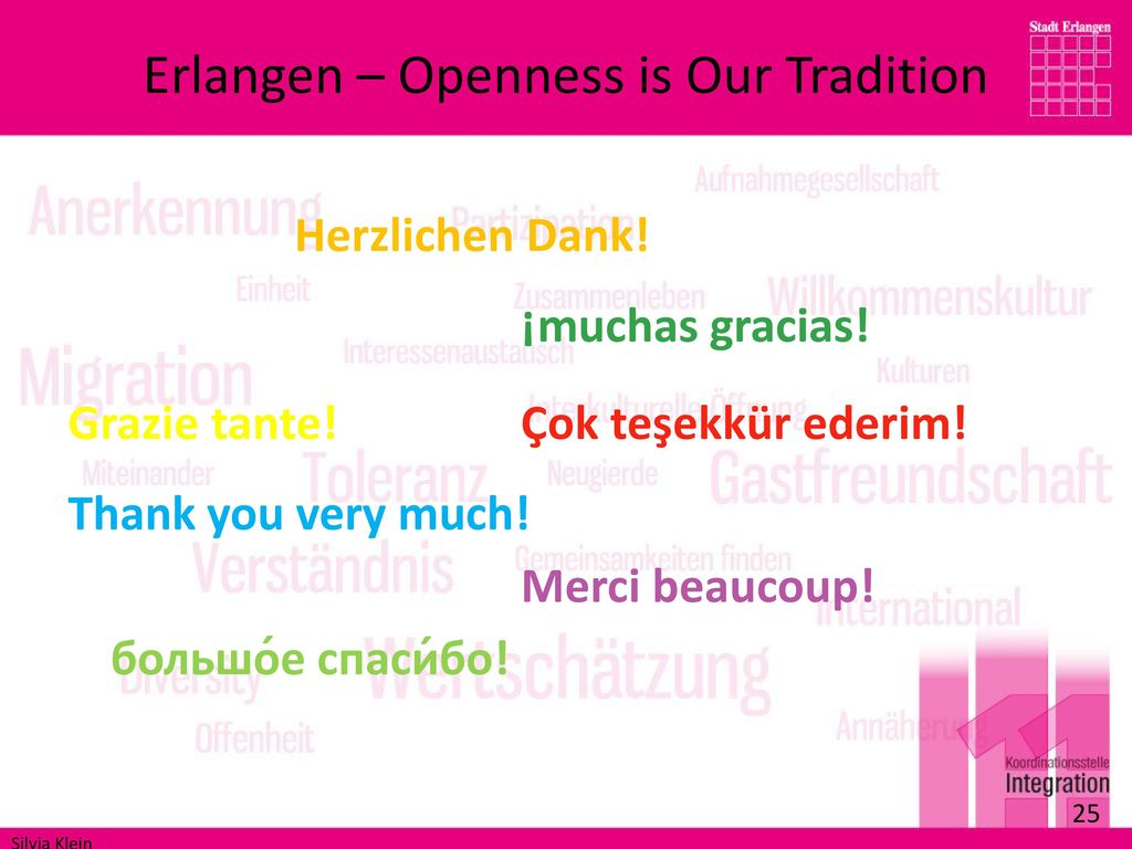 Erlangen – Openness is Our Tradition