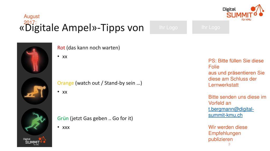 «Digitale Ampel»-Tipps von