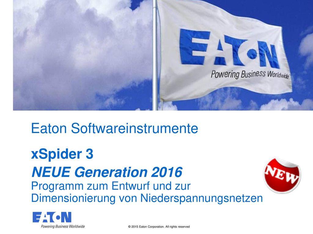 Eaton Softwareinstrumente
