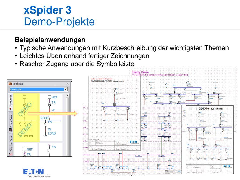 xSpider 3 Demo-Projekte