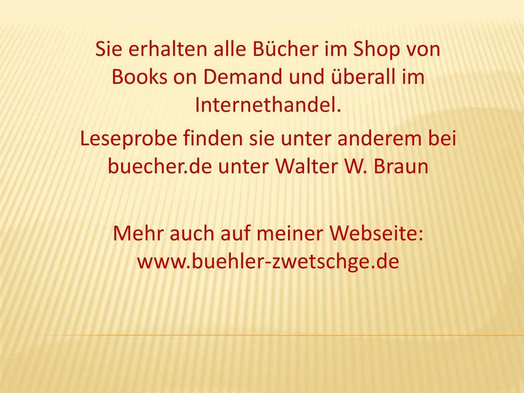 Mehr auch auf meiner Webseite: www.buehler-zwetschge.de
