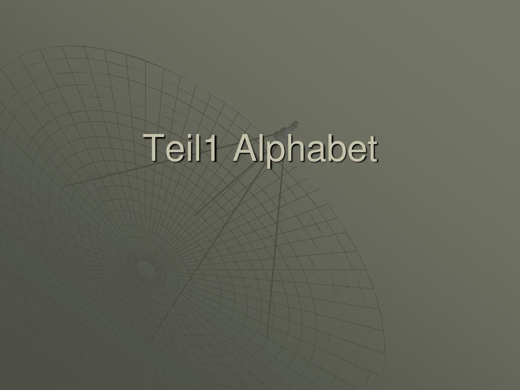 Teil1 Alphabet