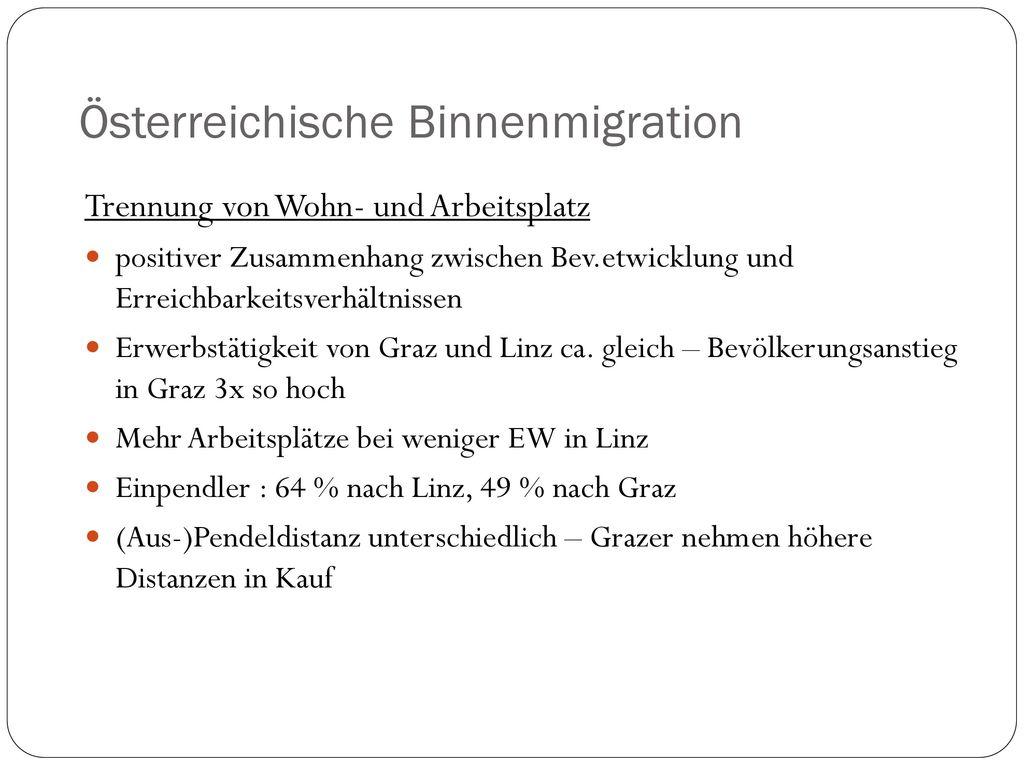 Österreichische Binnenmigration