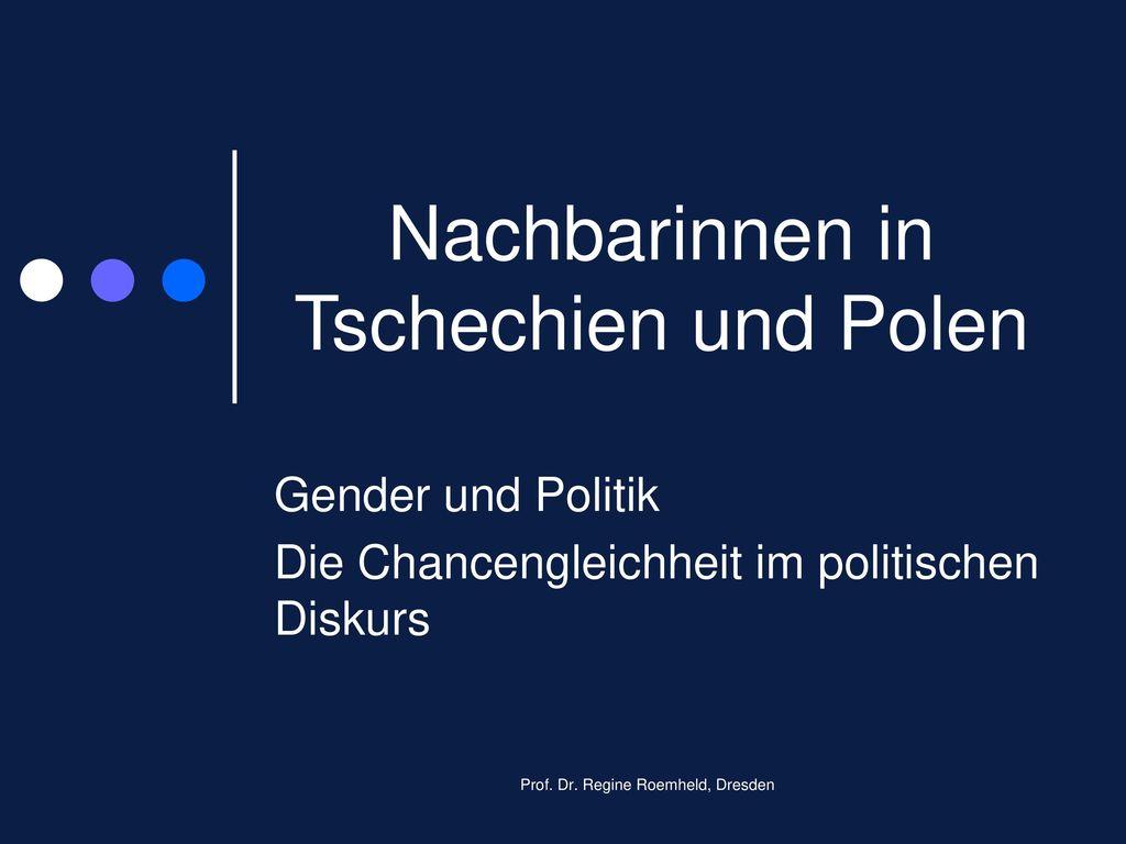 Nachbarinnen in Tschechien und Polen