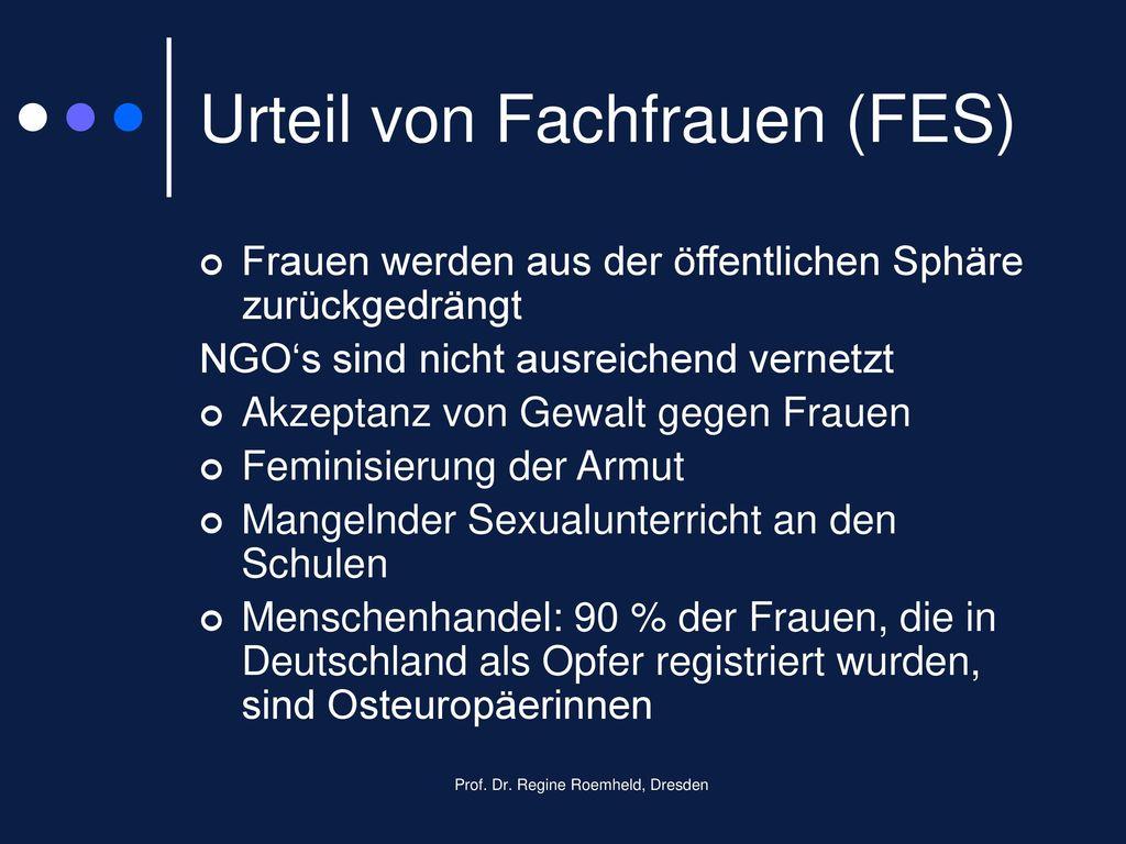 Urteil von Fachfrauen (FES)