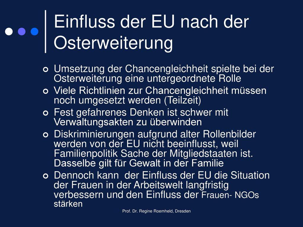 Einfluss der EU nach der Osterweiterung