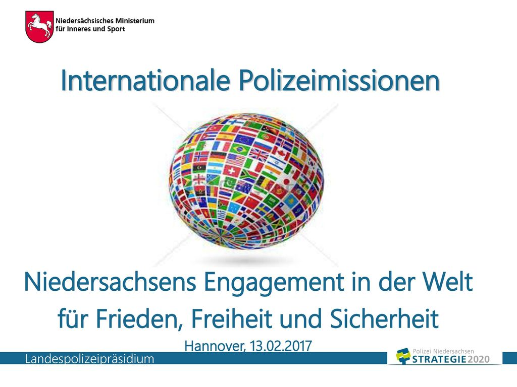Internationale Polizeimissionen