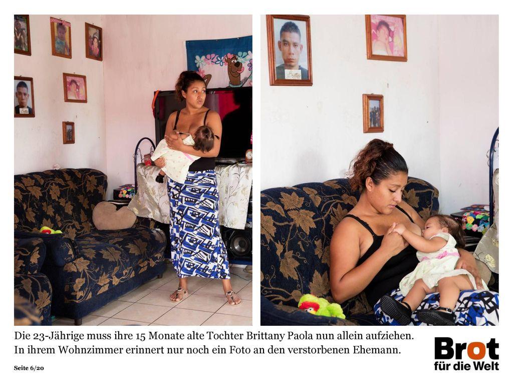 Die 23-Jährige muss ihre 15 Monate alte Tochter Brittany Paola nun allein aufziehen.