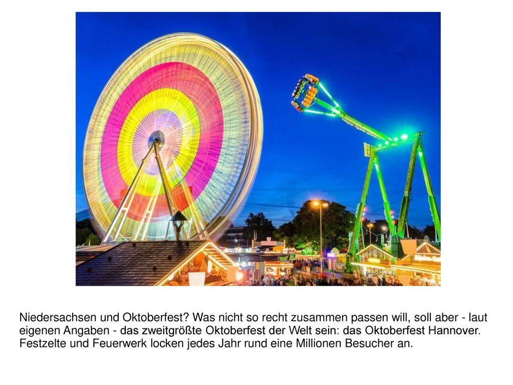 Niedersachsen und Oktoberfest