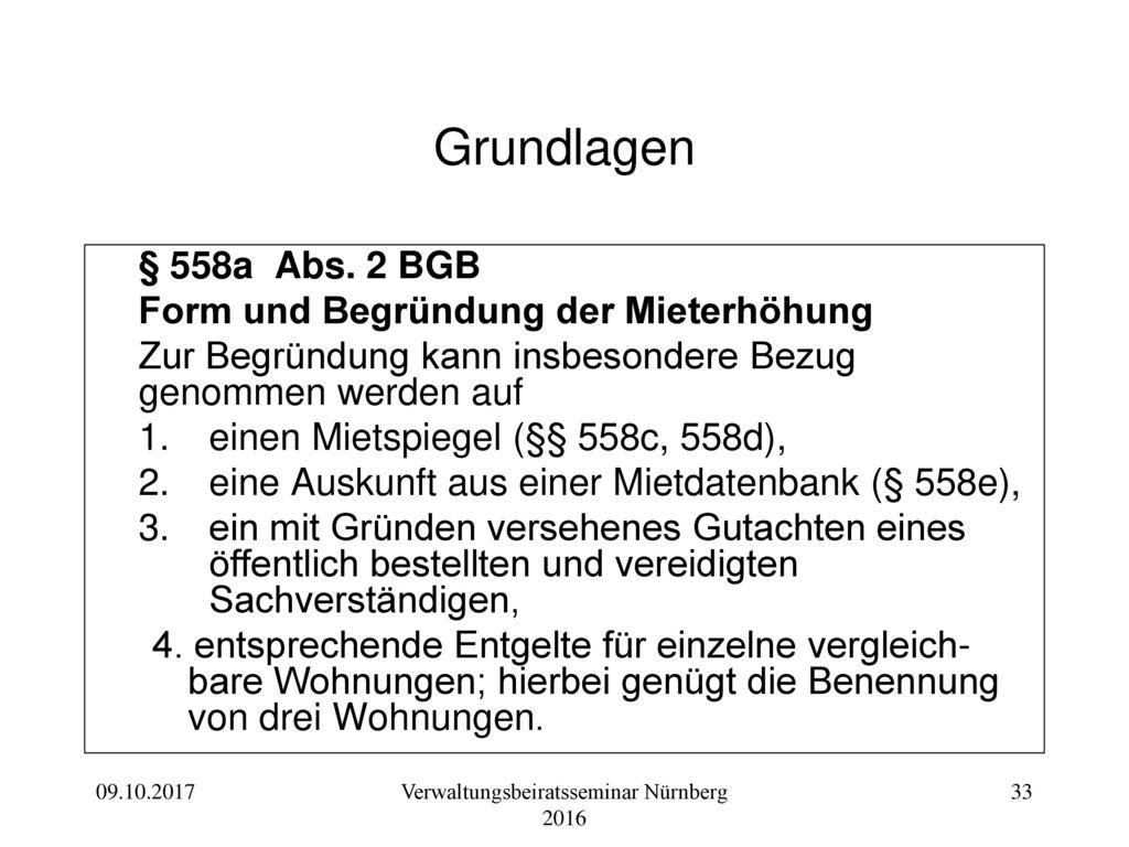Verwaltungsbeiratsseminar Nürnberg 2016
