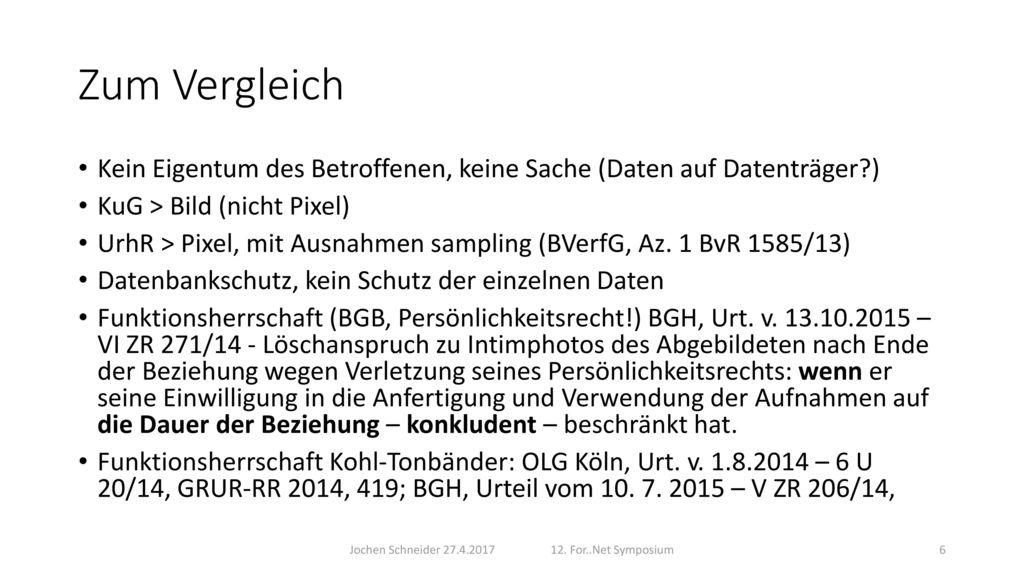 Jochen Schneider 27.4.2017 12. For..Net Symposium