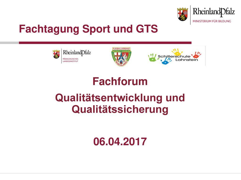 Fachtagung Sport und GTS