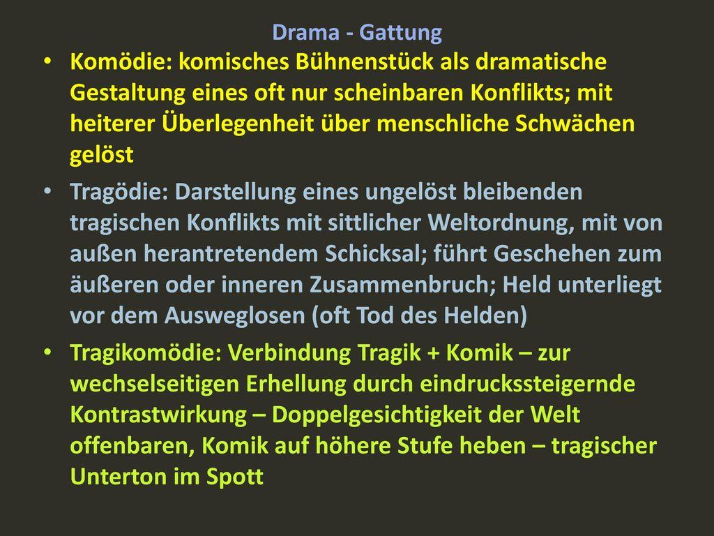 Drama - Gattung