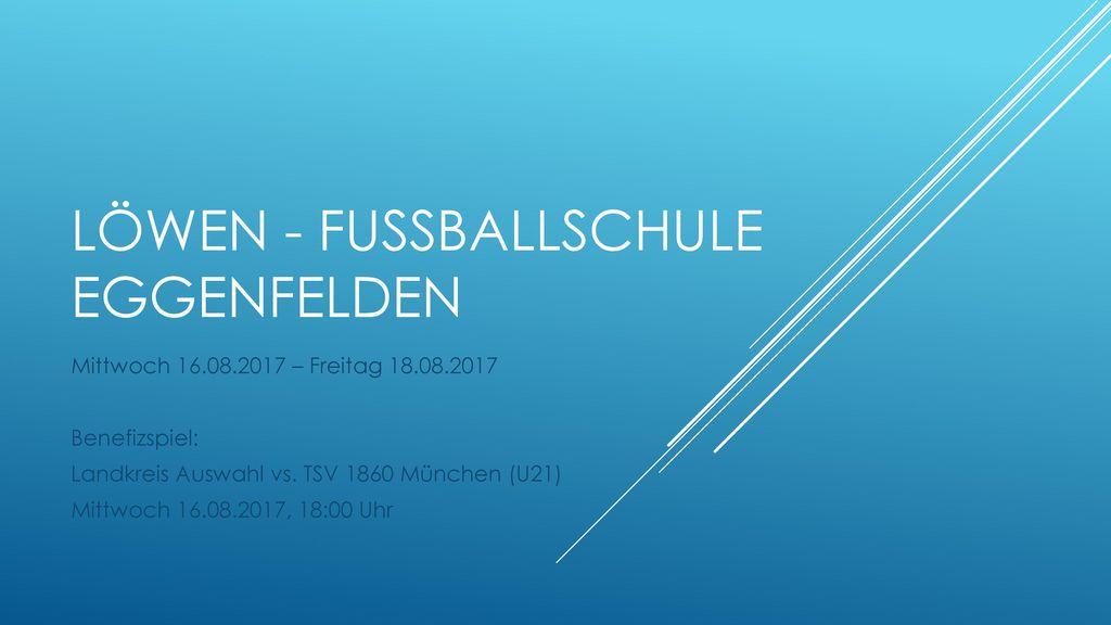 Löwen - FussballSchule Eggenfelden