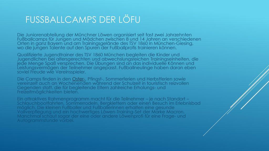 Fussballcamps der LöFu
