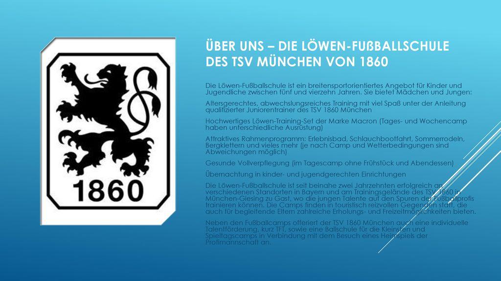 Über uns – die Löwen-Fußballschule des TSV München von 1860