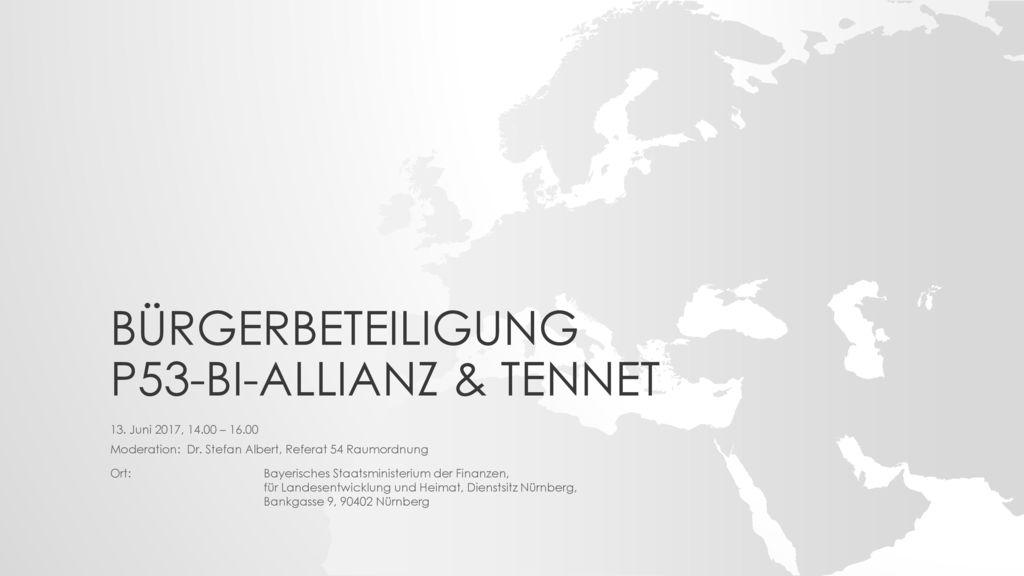 Bürgerbeteiligung P53-Bi-Allianz & TenneT