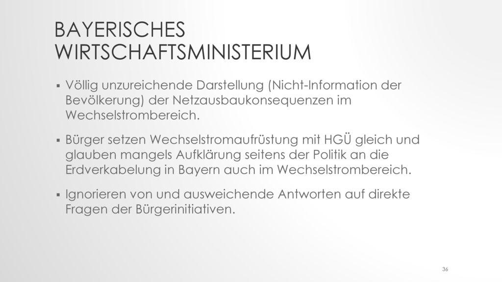 Bayerisches Wirtschaftsministerium