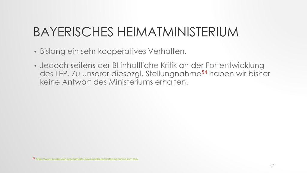 Bayerisches Heimatministerium