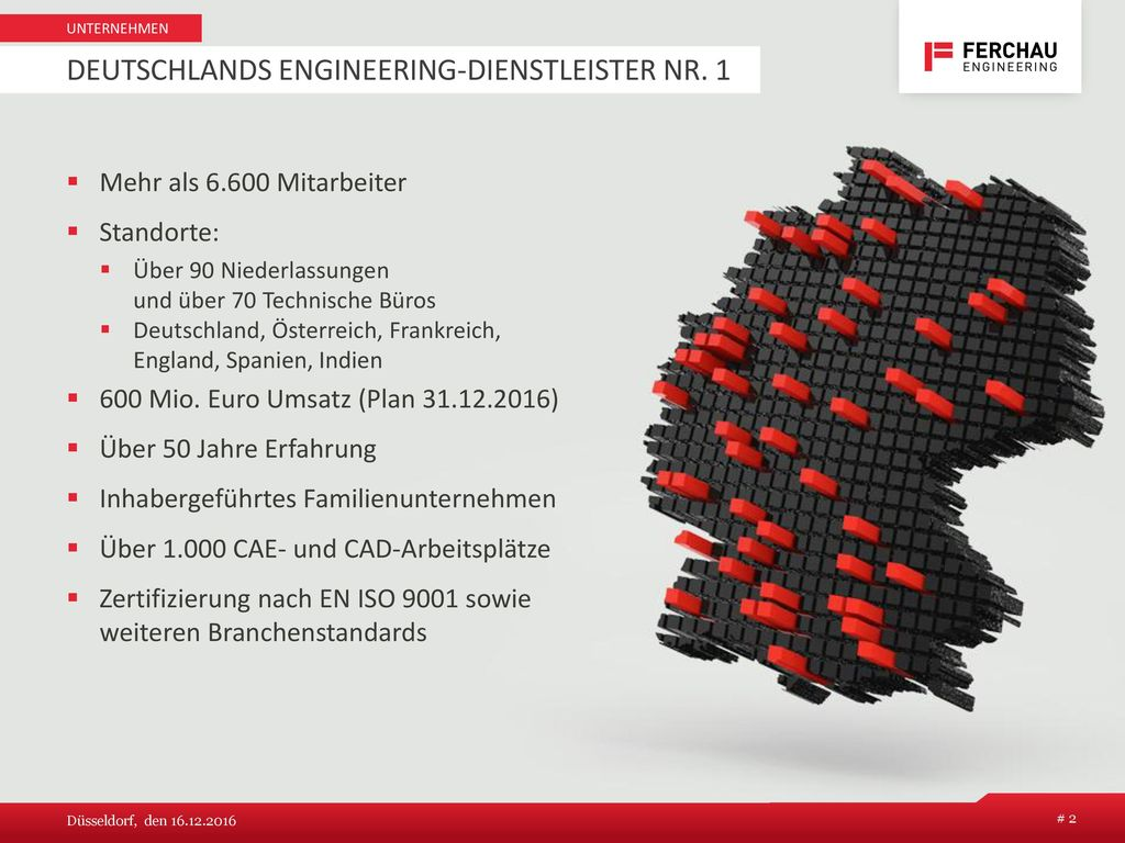 Deutschlands Engineering-Dienstleister Nr. 1