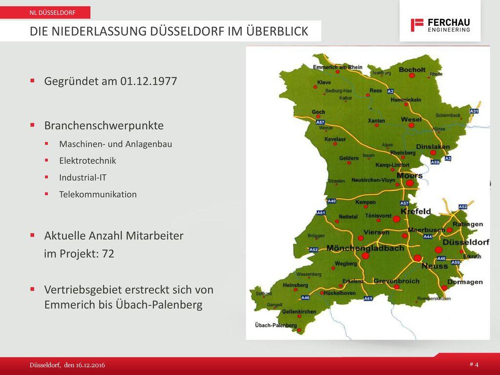 Die Niederlassung Düsseldorf im Überblick