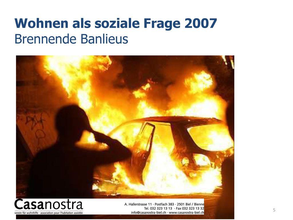 Wohnen als soziale Frage 2007