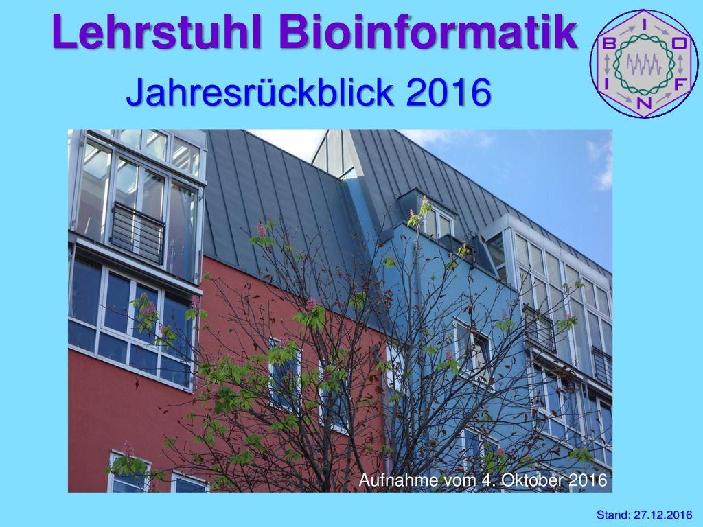 Lehrstuhl Bioinformatik