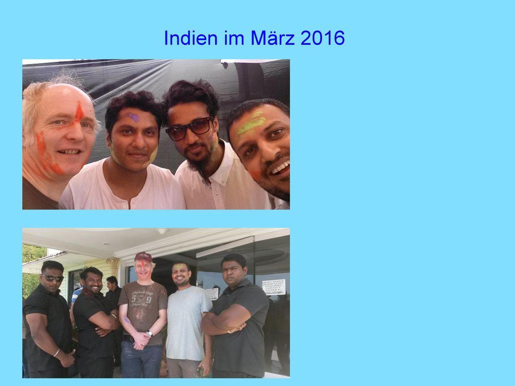 Indien im März 2016