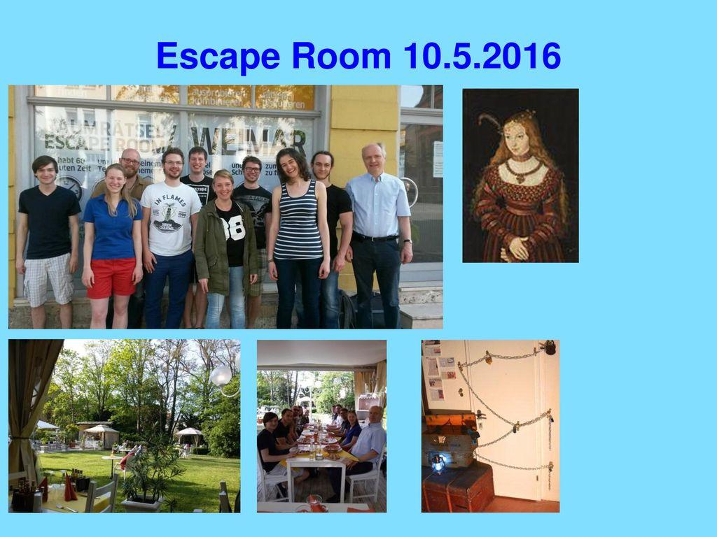 Escape Room 10.5.2016
