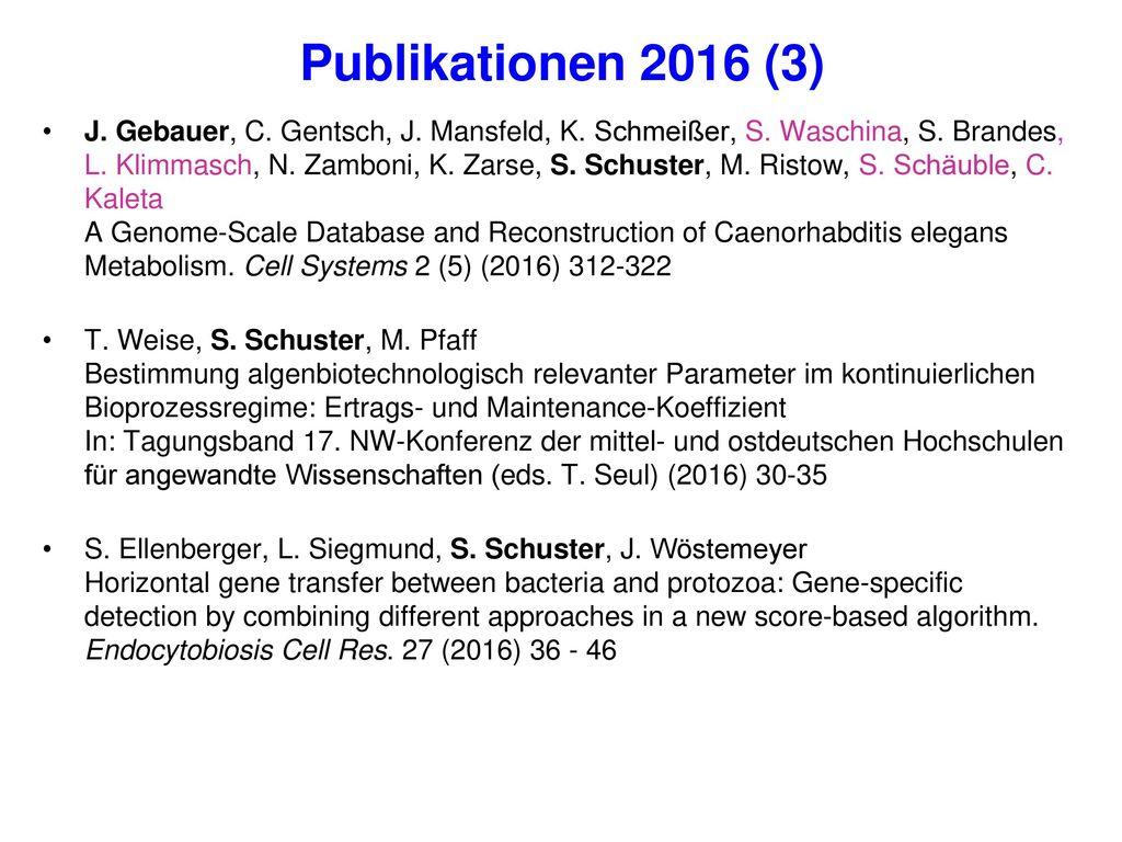 Publikationen 2016 (3)