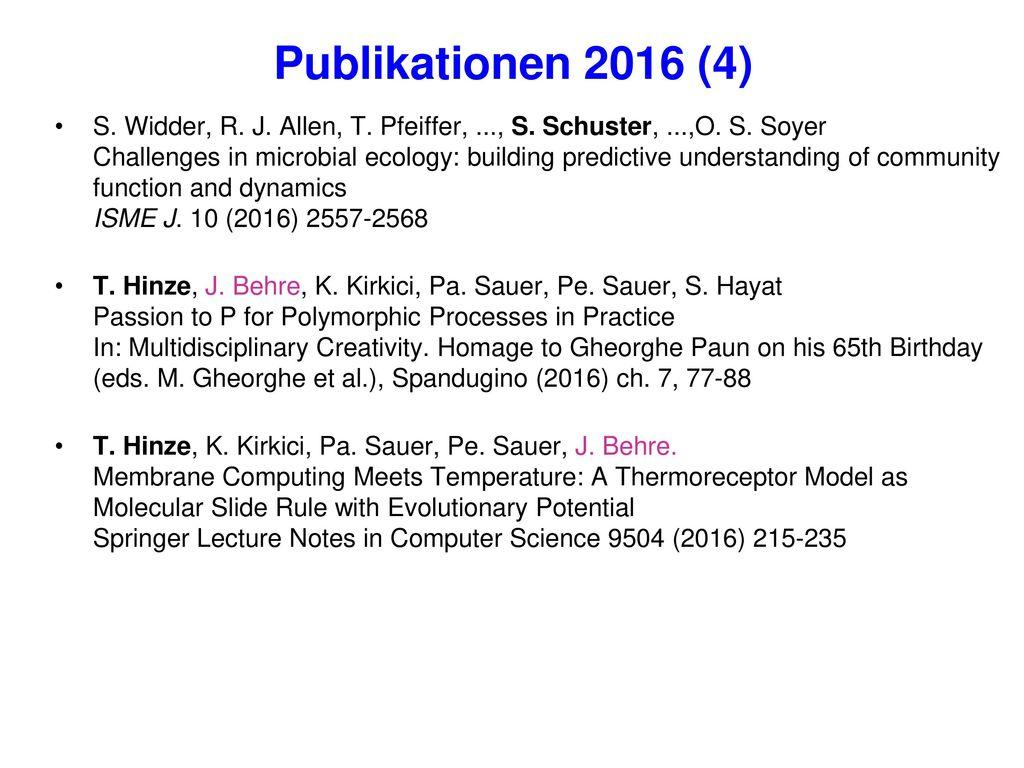 Publikationen 2016 (4)