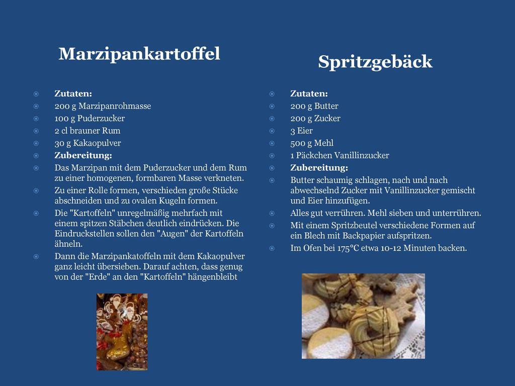Marzipankartoffel Spritzgebäck