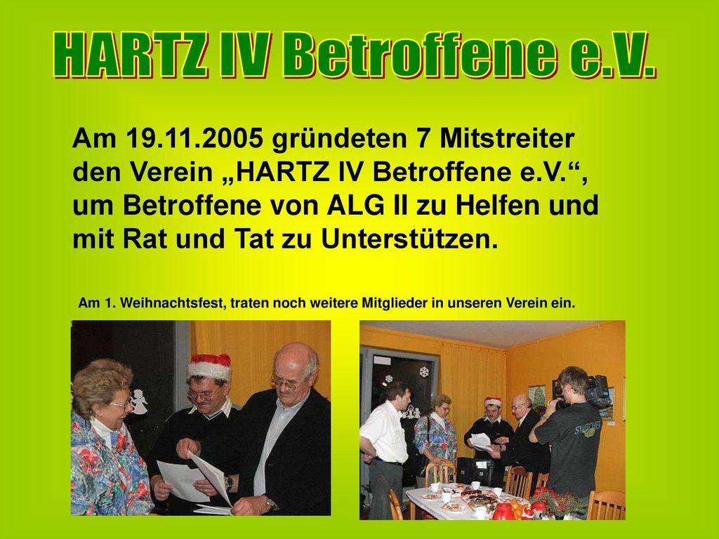 HARTZ IV Betroffene e.V.