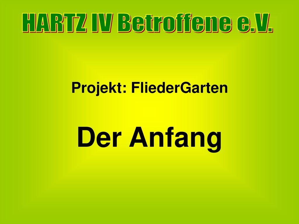 Projekt: FliederGarten