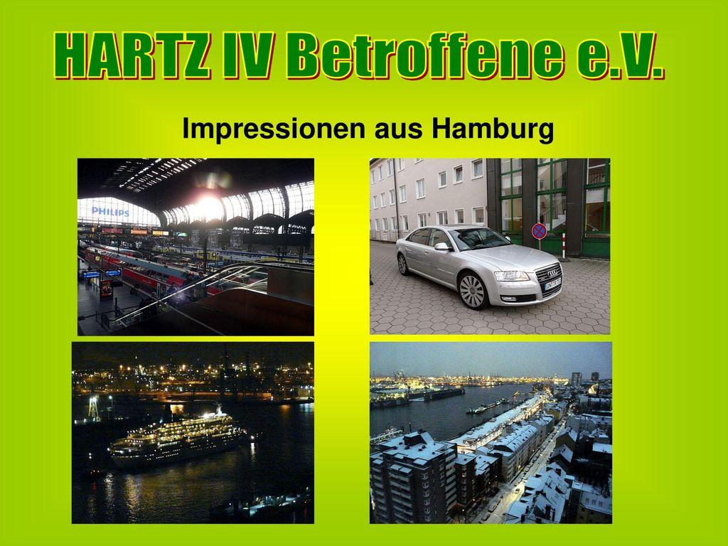 HARTZ IV Betroffene e.V. Impressionen aus Hamburg