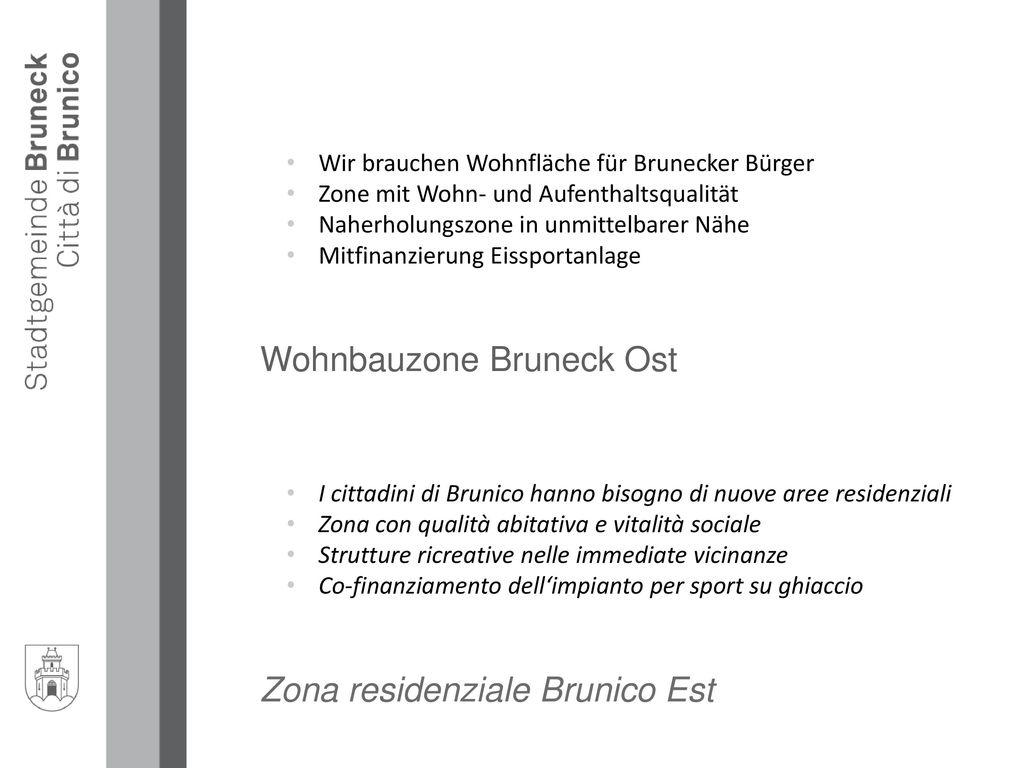 Wohnbauzone Bruneck Ost