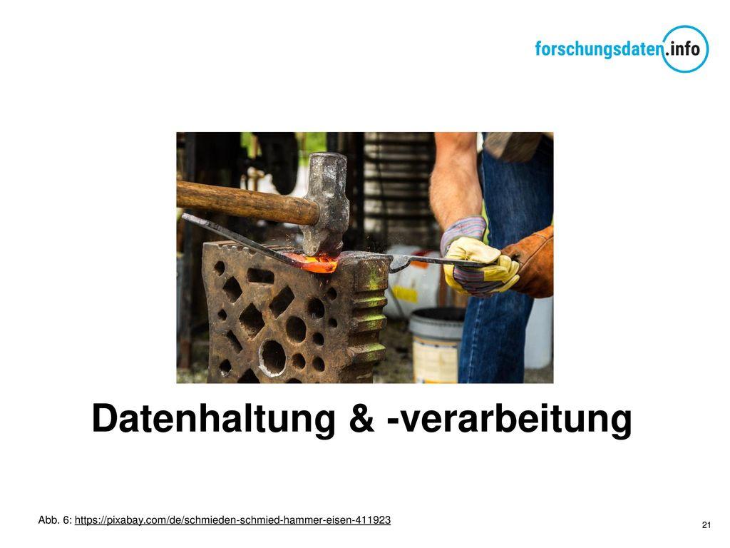 Datenhaltung & -verarbeitung
